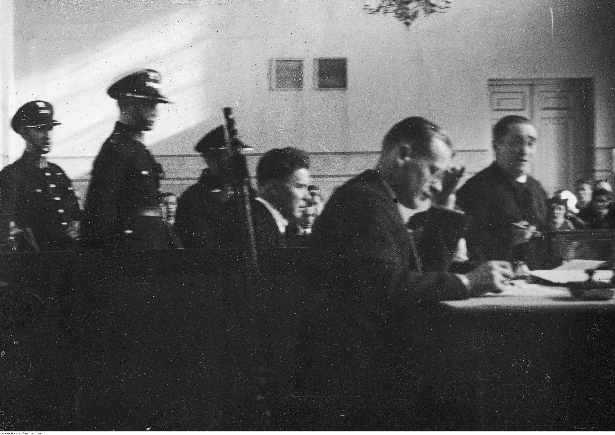 Proces Juliana Blachowskiego oskarżonego o zabójstwo Gastona Koehlera-Badina, Sąd Okręgowy w Warszawie