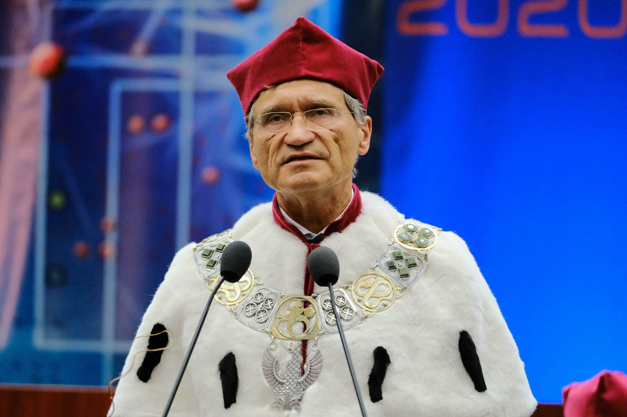 Prof. Zbigniew Gaciong, rektor WUM