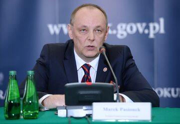 Prok. Marek Pasionek, zastępca Prokuratora Generalnego