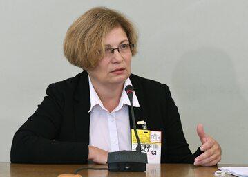 Prokurator Barbara Kijanko zeznaje przed sejmową Komisją śledczą ds. Amber Gold