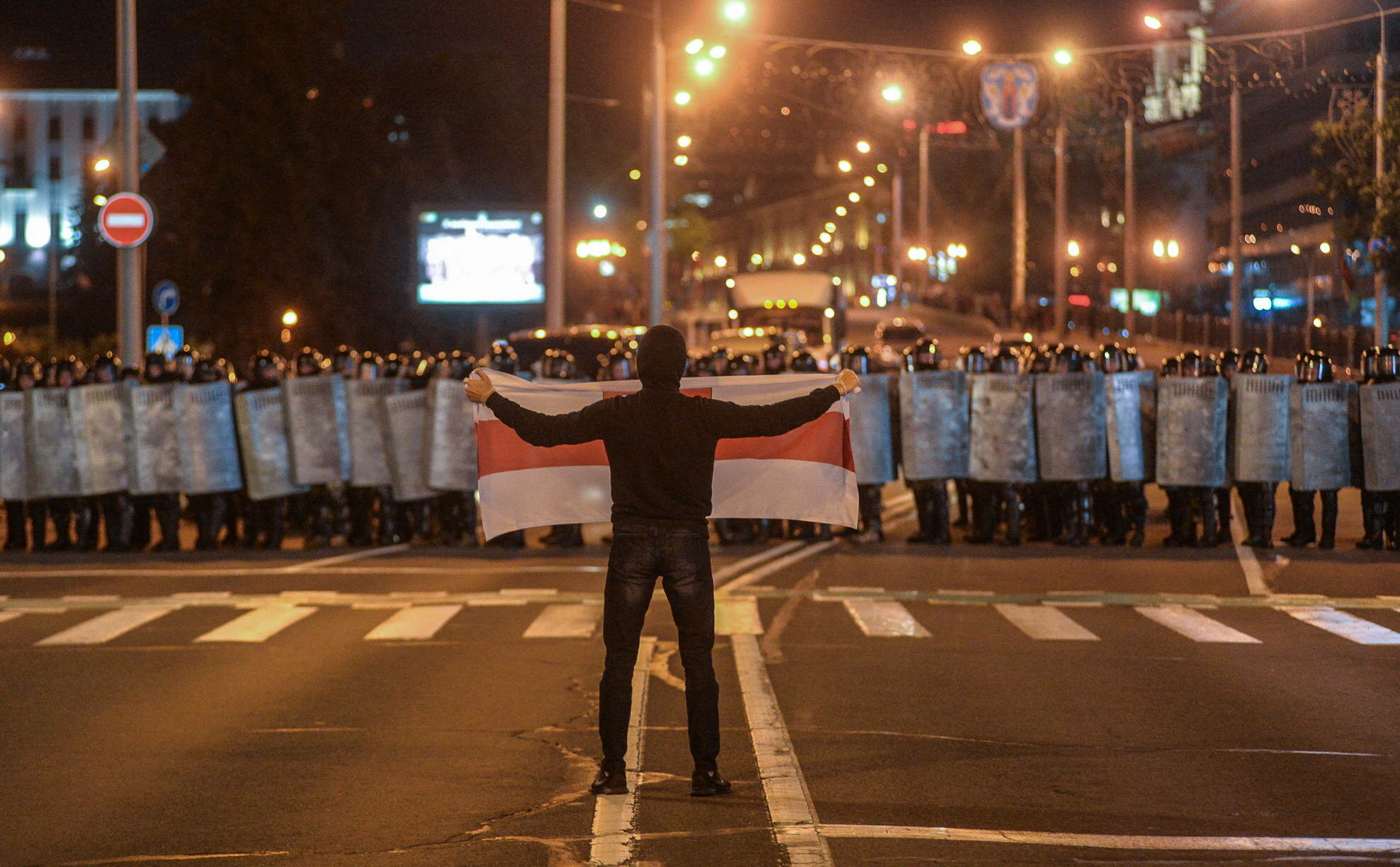Protest na Białorusi (9.08)