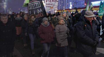 Protest zwolenników liberalizacji ustawy aborcyjnej
