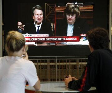 Przesłuchanie kandydata na sędziego Sądu Najwyższego Bretta Kavanaugha