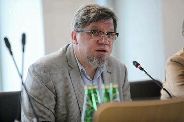 Przewodniczący Krajowej Rady Radiofonii i Telewizji Witold Kołodziejski