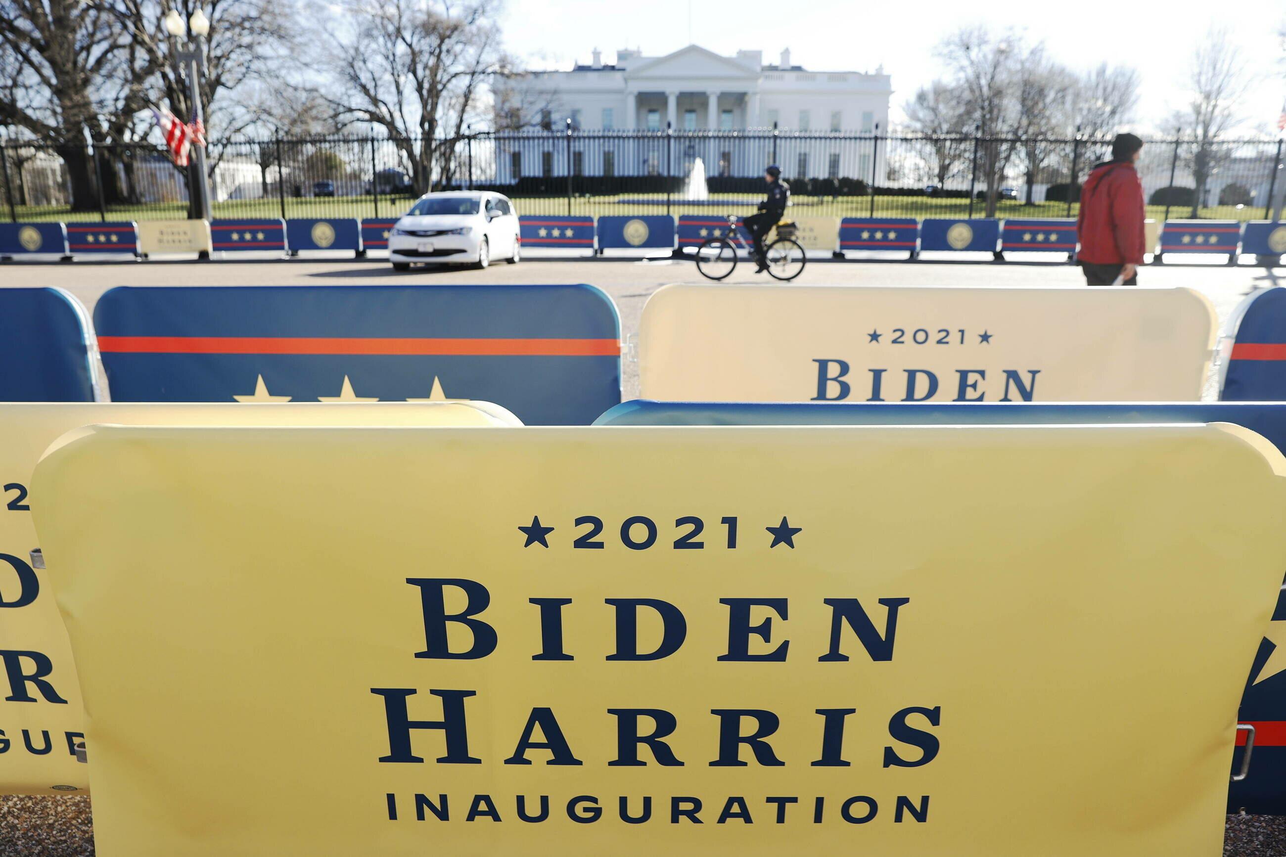 Przygotowania do zaprzysiężenia Joe Bidena na prezydenta Stanów Zjednoczonych i Kamali Harris na wiceprezydenta Stanów Zjednocznych