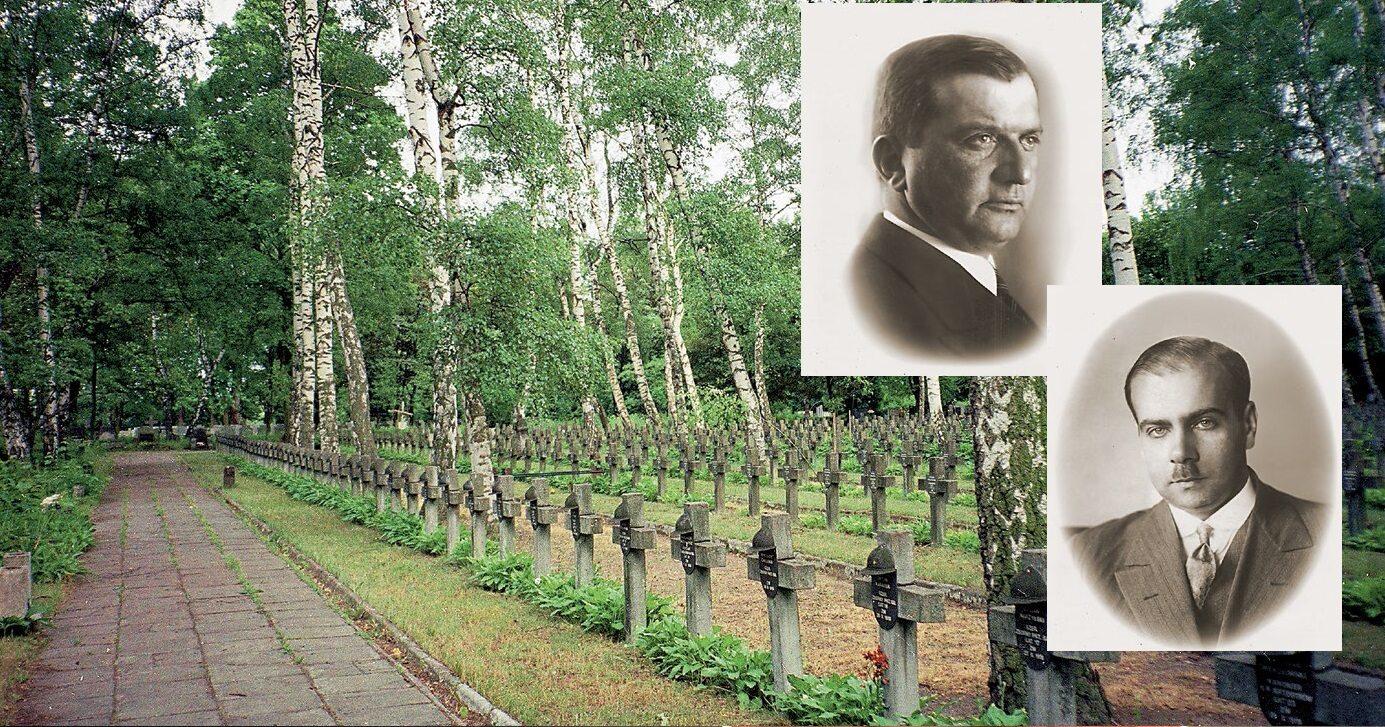 Pułkownik Ignacy Matuszewski i mjr Henryk Floyar-Rajchman pochowani zostaną na Powązkach Wojskowych wśród towarzyszy z wojny z bolszewikami w 1920 roku.