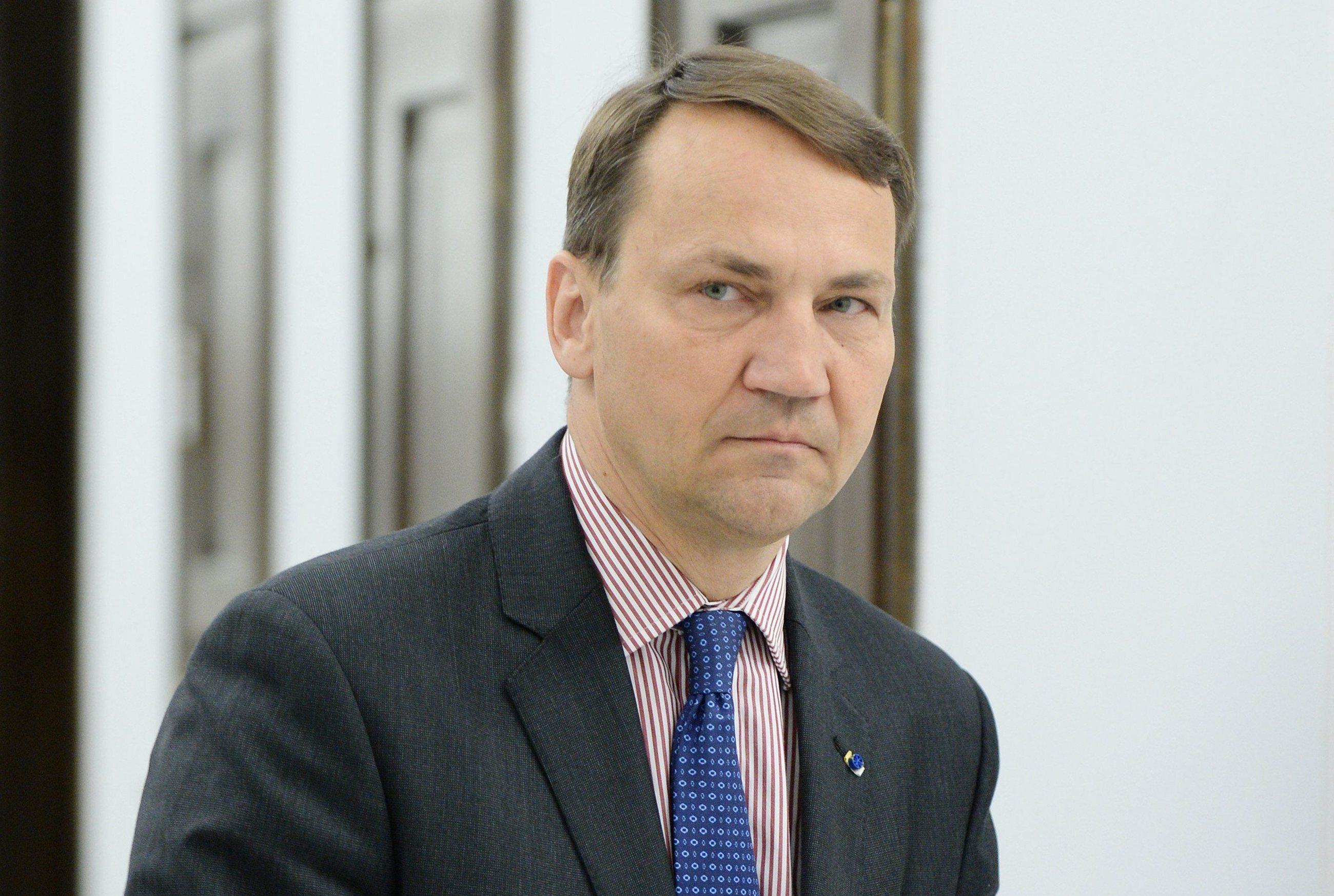 Radosław Sikorski, b. szef MSZ
