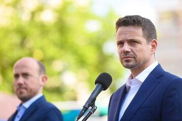Rafał Trzaskowski, Borys Budka