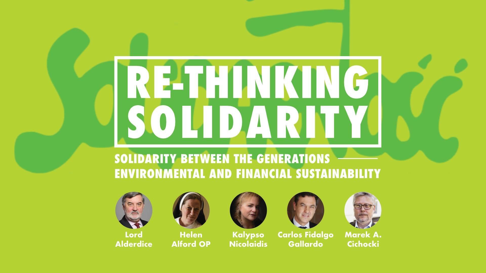 """Re-thinking Solidarity"". Wykład o idei solidarności"