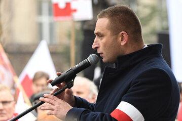 Robert Bąkiewicz, prezes Stowarzyszenia Marsz Niepodległości