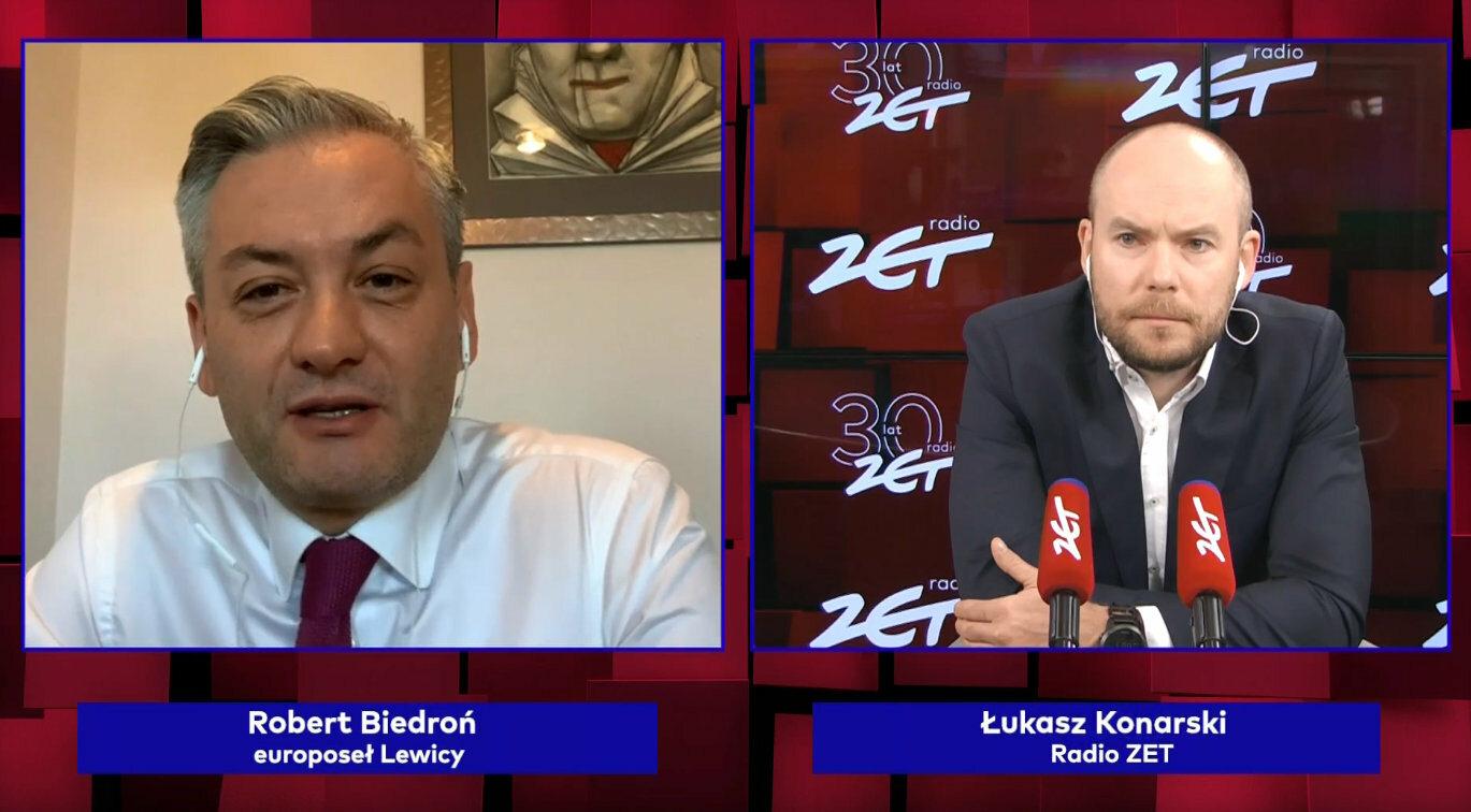 Robert Biedroń był gościem Radia ZET