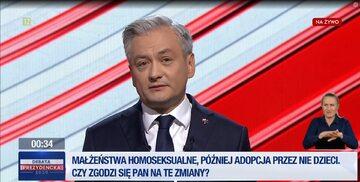 Robert Biedroń, kandydat Lewicy na prezydenta
