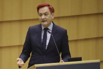 Robert Biedroń w Parlamencie Europejskim