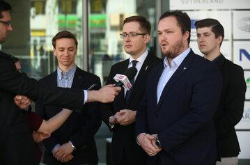 Robert Winnicki, Krzysztof Bosak, Witold Tumanowicz, Mateusz Marzoch