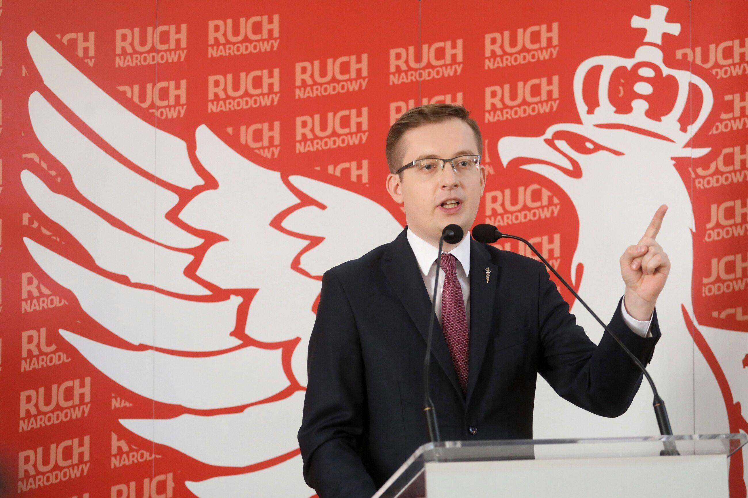 Robert Winnicki, prezes Ruchu Narodowego