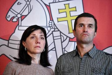 Rodzice zatrzymanego przez władze Białorusi byłego redaktora kanału NEXTA Ramana Pratasiewicza