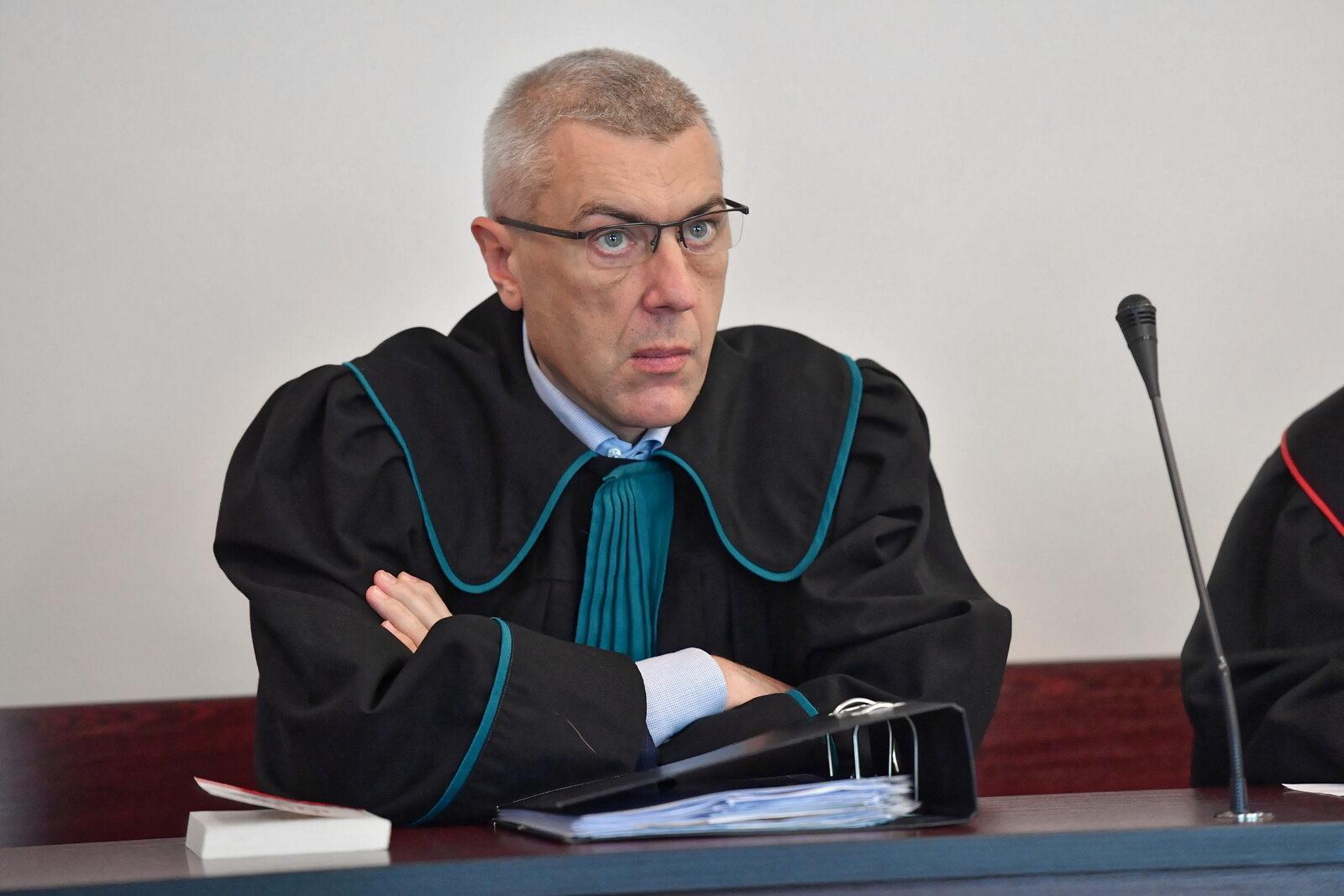 Roman Giertych w sądzie