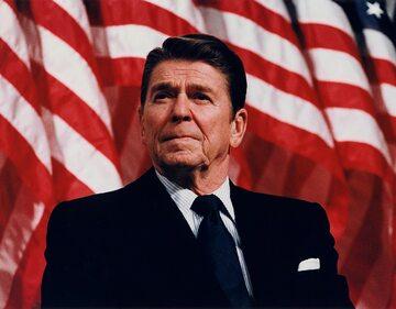 Ronald Reagan, prezydent USA