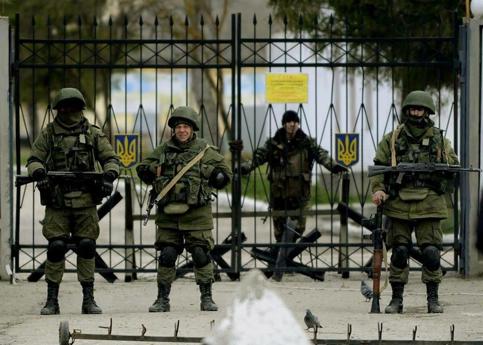 Rosjanie agresorem i okupantem na Krymie
