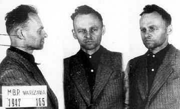 Rotmistrz Witold Pilecki po aresztowaniu przez UB w 1947 r.