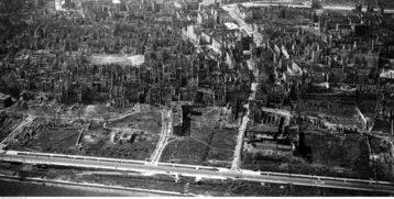 Ruiny warszawskiego Śródmieścia, rok 1946