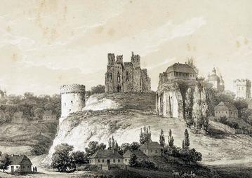 """Ruiny zamku w Ostrogu na Wołyniu. Pamiątka po """"polskich kolonizatorach"""""""