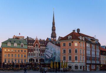 Ryga, stolica Łotwy, zdjęcie ilustracyjne