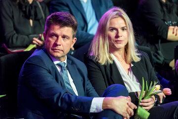 Ryszard Petru i Joanna Schmidt (Nowoczesna)