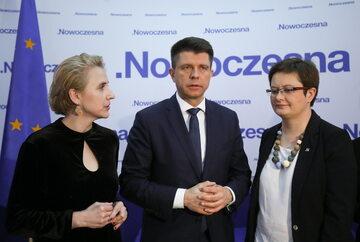 Ryszard Petru, Joanna Scheuring-Wielgus, Katarzyna Lubnauer