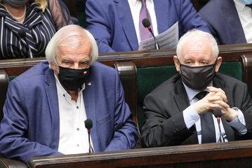 Ryszard Terlecki, Jarosław Kaczyński