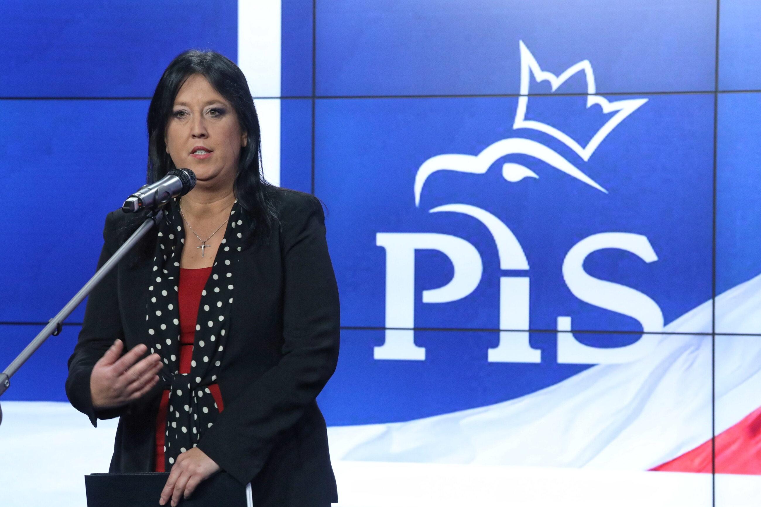Rzecznik PiS Anita Czerwińska