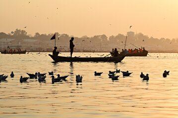 Rzeka Ganges, zdjęcie ilustracyjne
