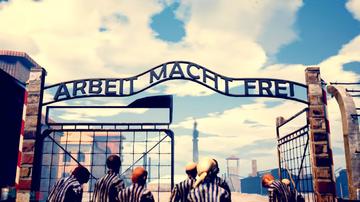 rzekoma ukraińska gra o Auschwitz