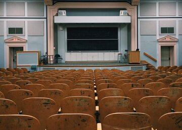 Sala wykładowa dla studentów