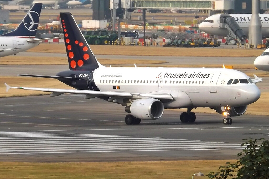 Samolot linii Brussels Airlines