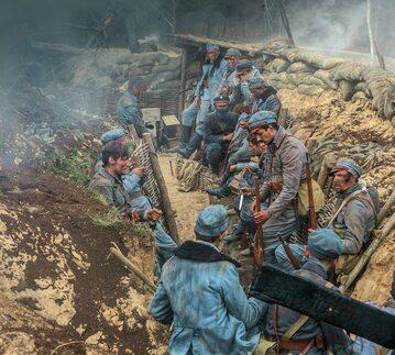 """Scena bitwy pod Kostiuchnówką wygląda w """"Legionach"""" jak w porządnym kinie historycznym z importu"""