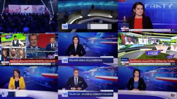 """Screen z """"Faktów"""" TVN"""