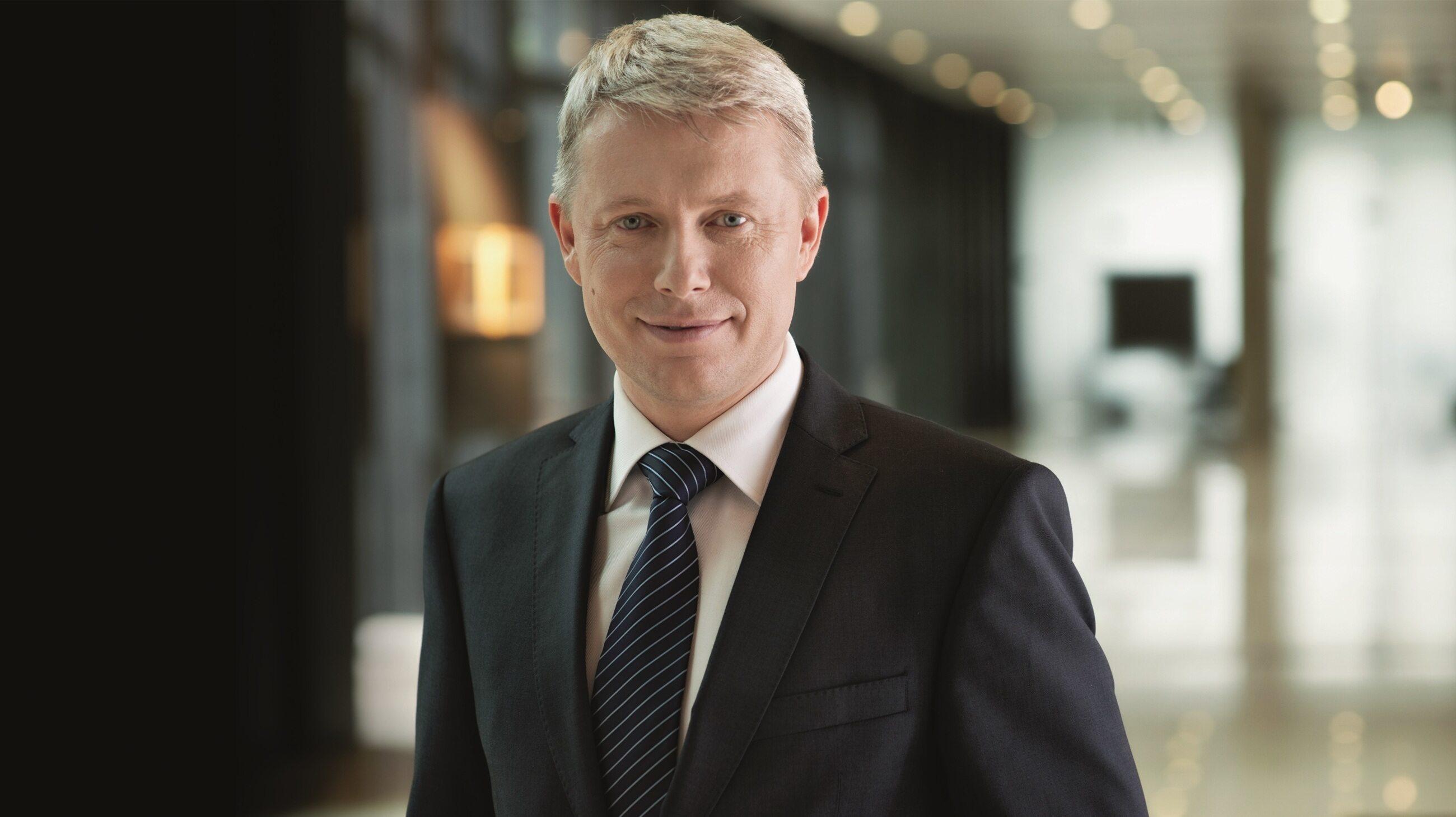 Sebastian Szymanki, prezes zarządu Polpharma Biuro Handlowe