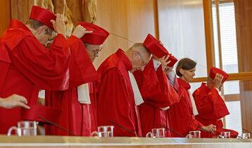 Sędziowie niemieckiego Trybunału Konstytucyjnego