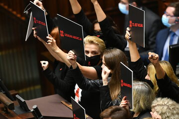 Sejm, posłanki Lewicy