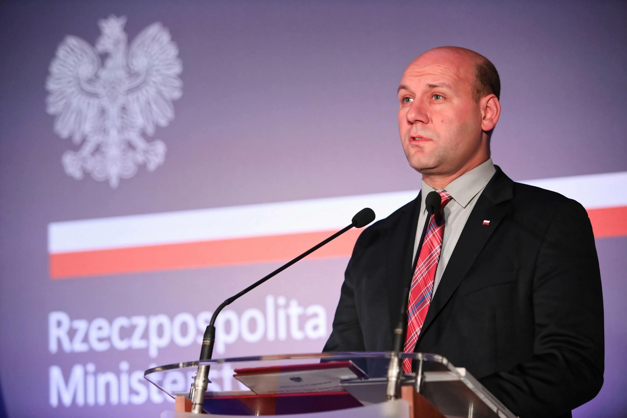 Sekretarz stanu ds. Polonii, polityki europejskiej oraz dyplomacji publicznej w MSZ Szymon Szynkowski vel Sęk