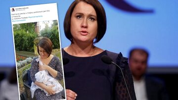 """Siarkowska pokazała zdjęcie z dzieckiem i wzbudziła falę komentarzy. """"Karmienie piersią..."""""""