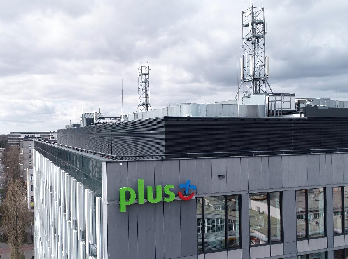 Sieć 5G w Plusie