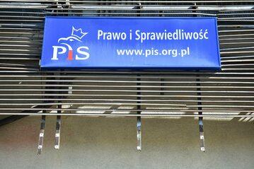 Siedziba PiS przy ul. Nowogrodzkiej w Warszawie