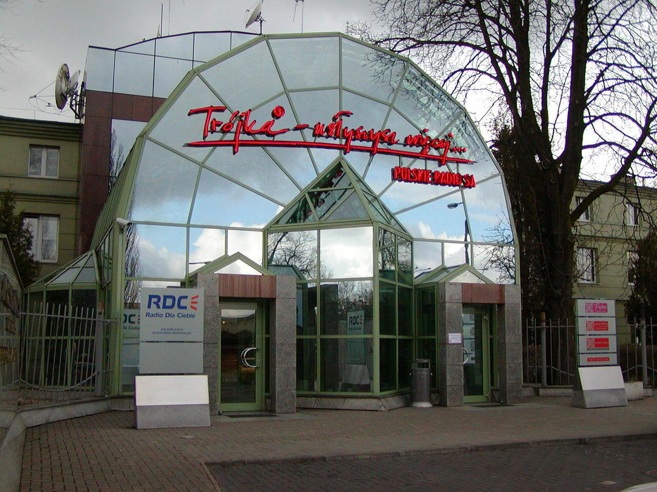 Siedziba Trójki w Warszawie