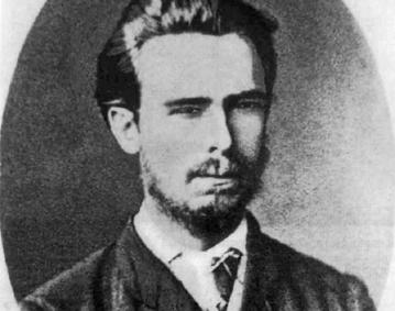Siergiej Nieczajew na fotografii z 1870 roku.