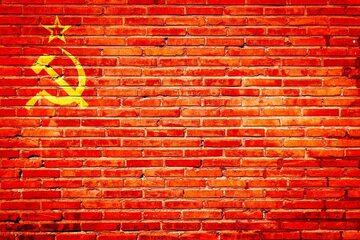 Sierp i młot – symbol komunizmu, zdjęcie ilustracyjne