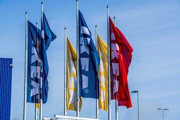 Sklep szwedzkiej sieci IKEA