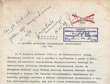 Sławomir Cenckiewicz ujawnia mało znaną notatkę z PRL