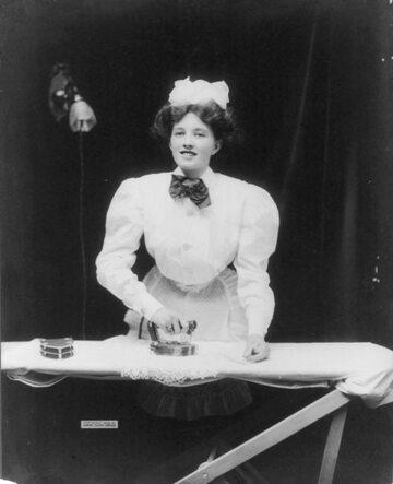 Służąca domowa, USA 1908 r
